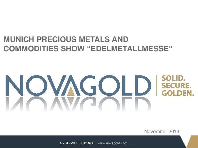 International Precious Metals & Commodities Show, Munich