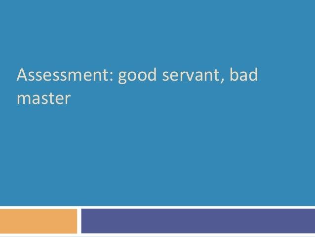 ESSAY ON SCIENCE. HOW IS SCIENCE IS GOOD SERVANT BUT BAD MASTER?