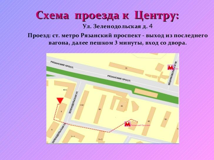4. Схема проезда