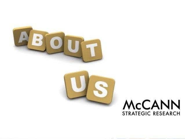 מי אנחנו ?  מחלקת מחקר אסטרטגי הוקמה ביוני 2011 .  המחלקה הנה זרוע המחקר והייעוץ האסטרטגי של מקאן תל-אביב, המספקת ערך מוסף...