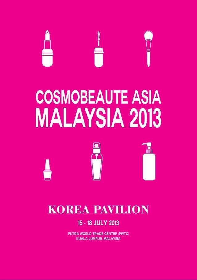 COSMOBEAUTY ASIA MALAYSIA 2013