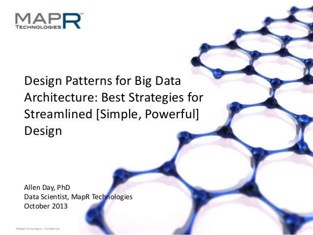 20131111 - Santa Monica - BigDataCamp - Big Data Design Patterns