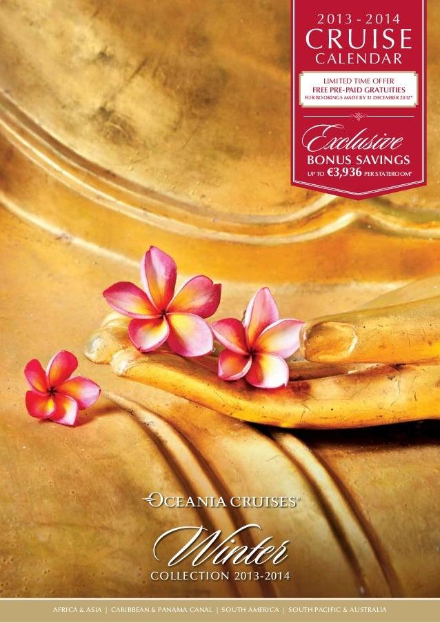 Calendario Oceania