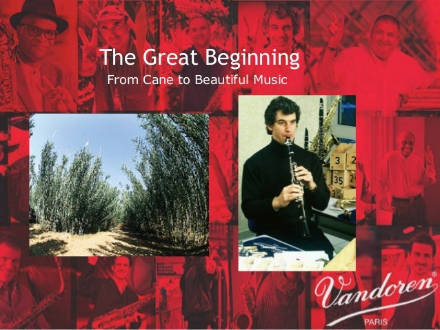 The Great Beginning From Cane to Beautiful Music