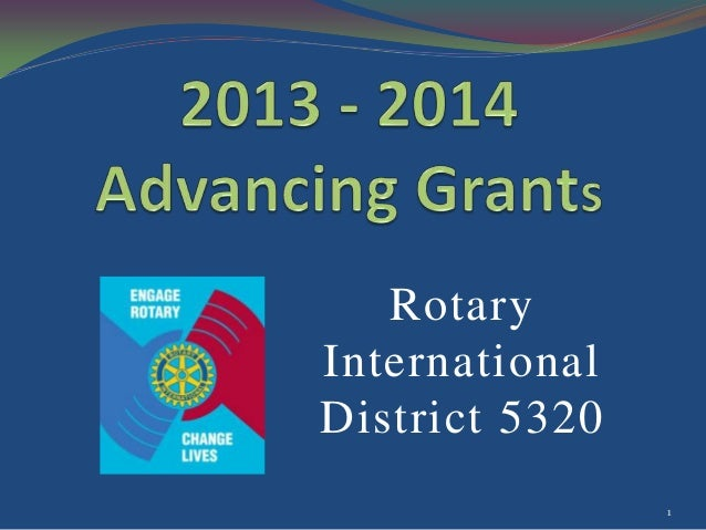 Rotary International District 5320 1