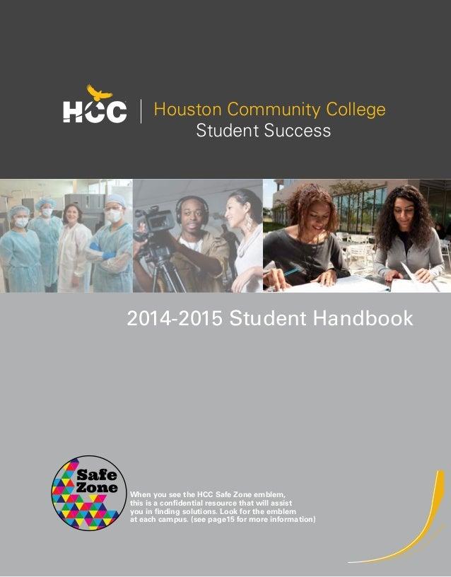 HCC 2013-2014 Student Handbook