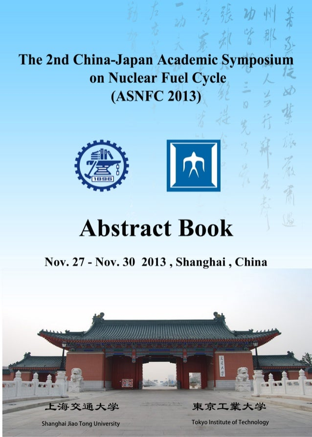 2013 abstract book ASNFC-Shanghai