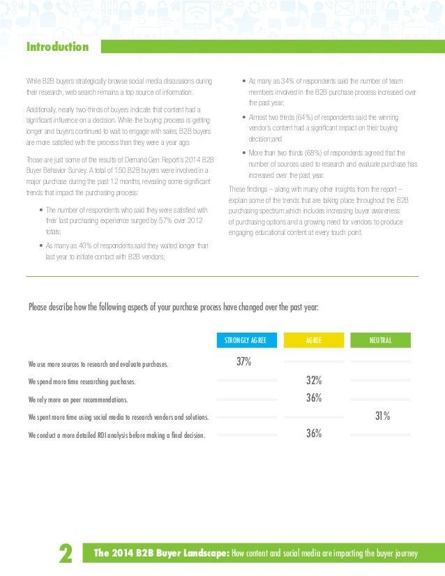 content and social media  B2b Social Media Landscape