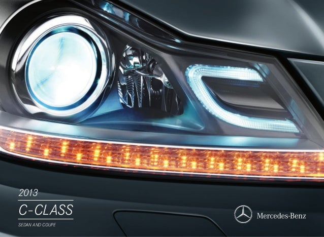 2013 C-CLASS SEDAN AND COUPE