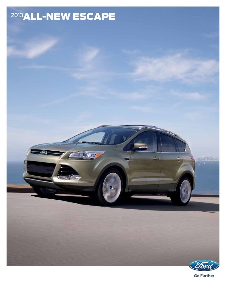 2013 Ford Escape Brochure