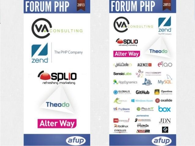 Forum PHP Paris 2013 – Keynote d'ouverture