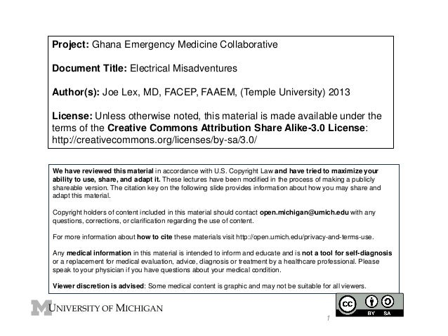 GEMC- Electrical Misadventures- Resident Training