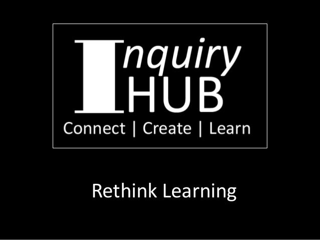 Rethink Learning