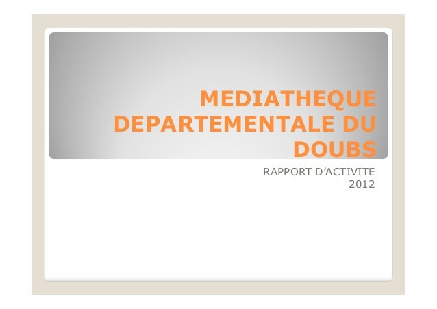 2013 rapportactivitemdd2012