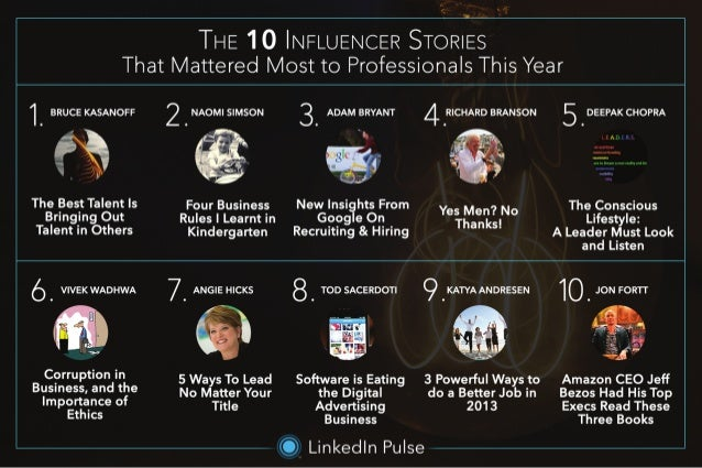 The Influencer Stories That Mattered Most In 2013