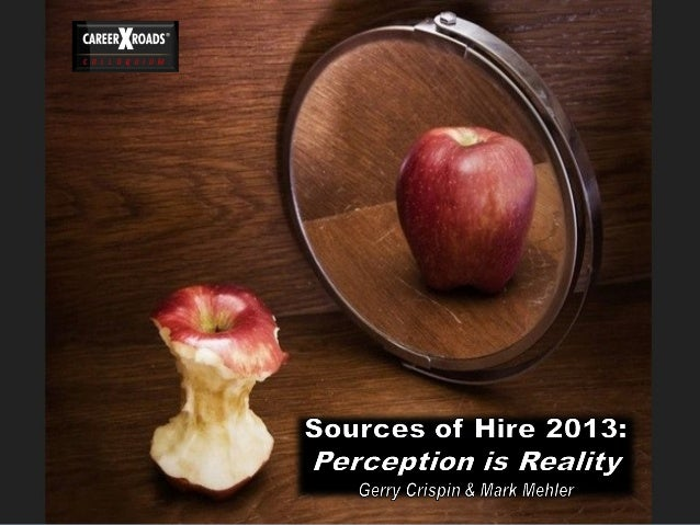 2013 soh-perception is reality