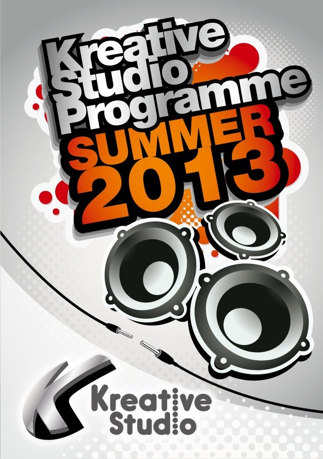 Kreative Studio 2013 Summer Programme Booklet