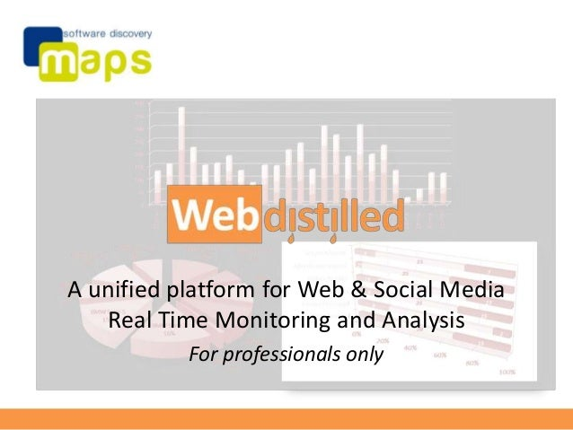 Webdistilled Web and Social Media monitoring and analysis