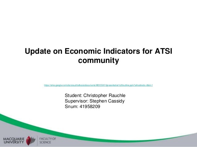 Update on Economic Indicators for ATSI             community     https://sites.google.com/site/crauchlethesis/documents/MD...