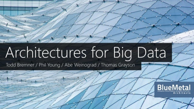 What is Big Data?A new generation of technologies and architecturesdesigned to economically extract value from very largev...