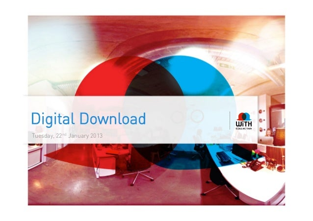 Digital DownloadTuesday, 22nd January 2013