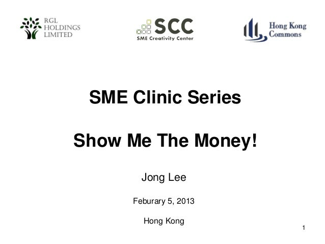 Show Me the Money: Jong Lee at SMECC - 20130205