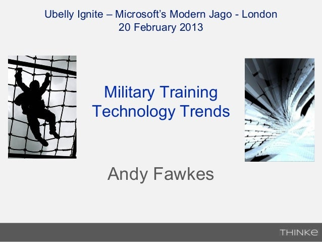 Military Training Technology Trends