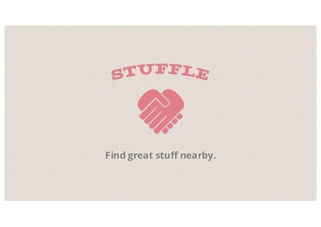 Find great stuff nearby.
