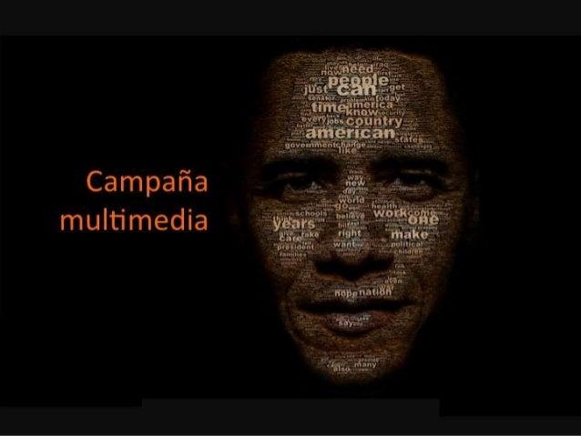 obama - campañas multimedia