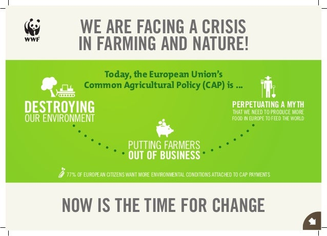 WE ARE FACING A CRISIS               IN FARMING AND NATURE!                     Today, the European Union's               ...