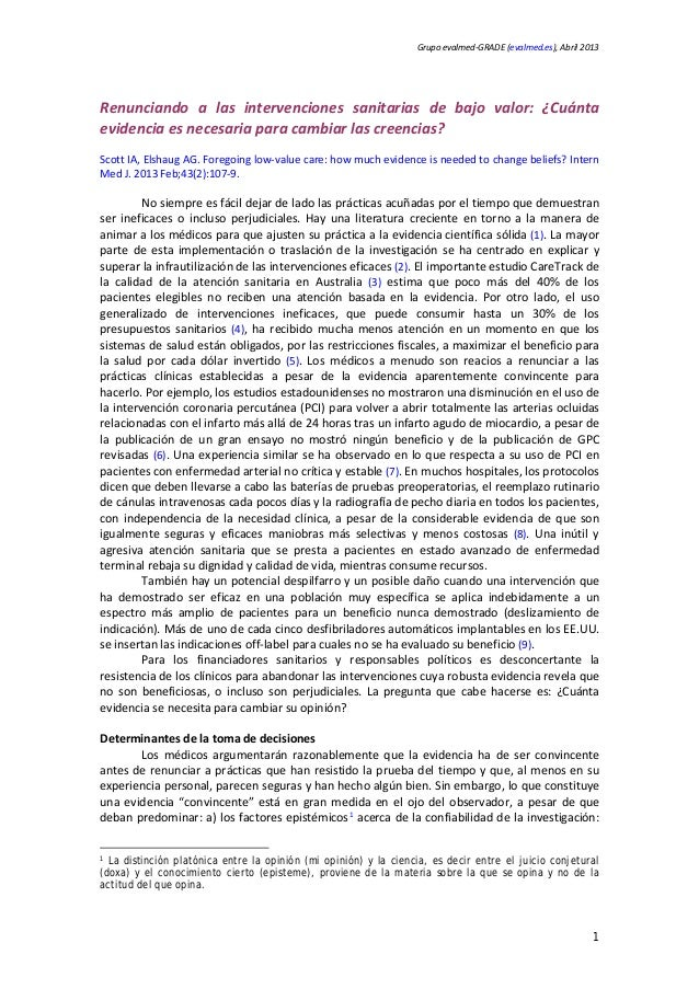 20130228 edit, ¿cuánta evid necesitamos para cambiar creencias¿ español.scott