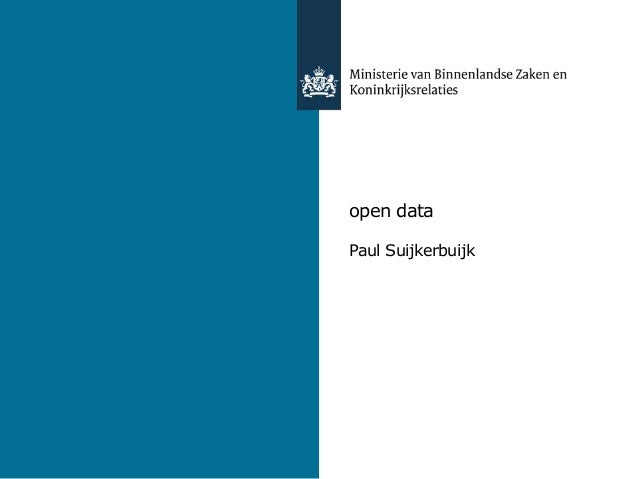 open dataPaul Suijkerbuijk