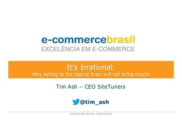 E-Commerce Brasil Tim Ash Keynote