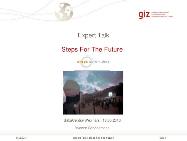 Expert Talk - Steps For The Future