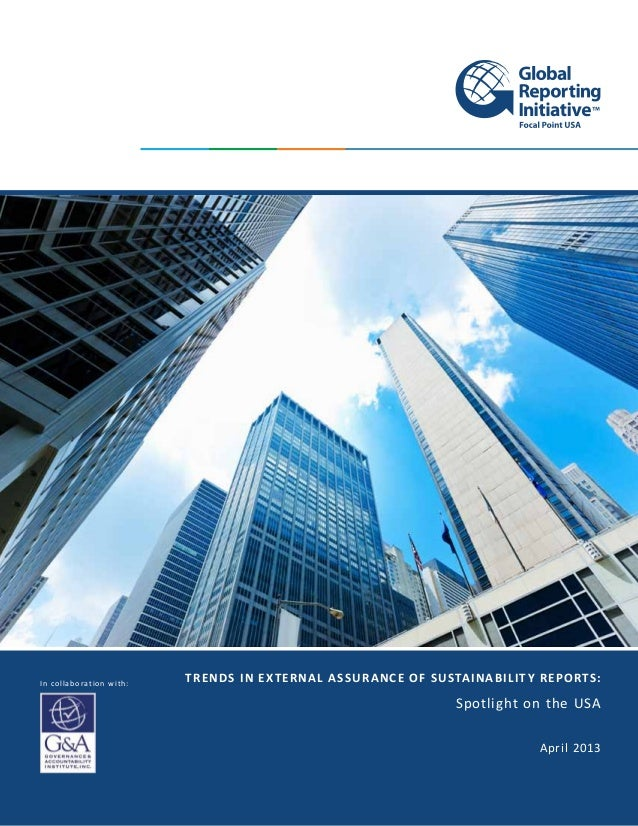 Trends in external assurance of sustainability reports: spotlight on the USA