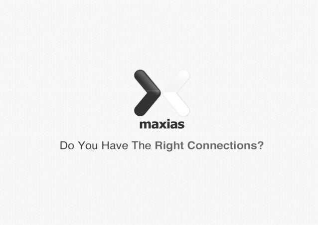 About MaxiasMaxias is a leading independent digital agency developingweb solutions for over 10 years.With core strengths i...