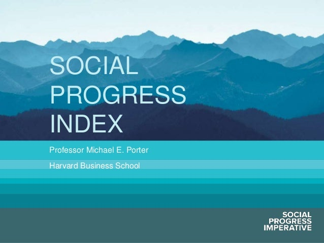 2013 Skoll World Forum Plenary - Introducing the Social Progress Index