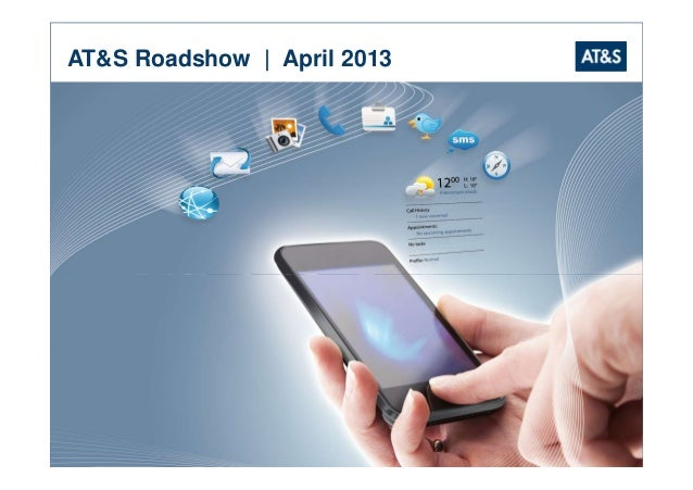 AT&S Roadshow | April 2013