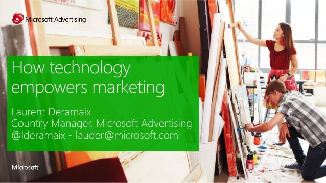 Microsoft on How technology empowers marketing at Solvay