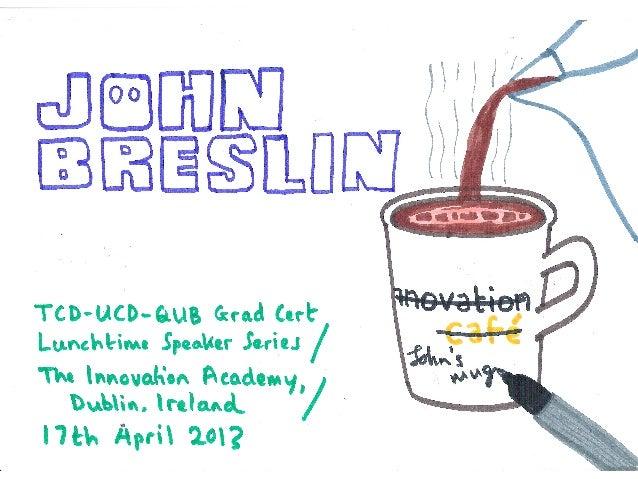 John Breslin at the Innovation Academy