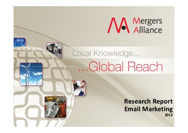 20130423 e mailmarketing market trends +ma + profiles