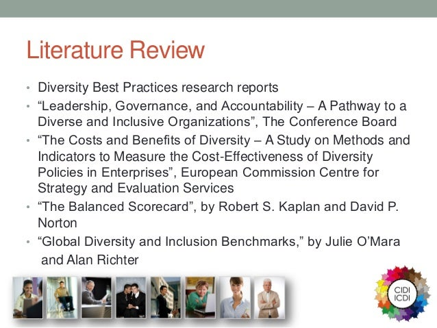 Diversity literature review