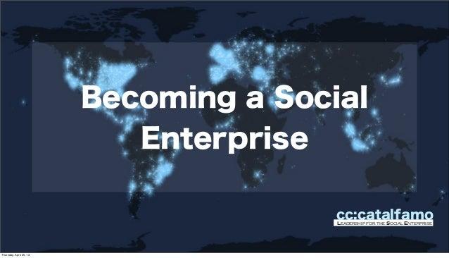 Becoming a Social Enterprise