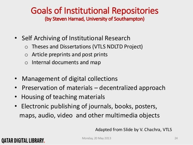 network digital of theses and dissertations