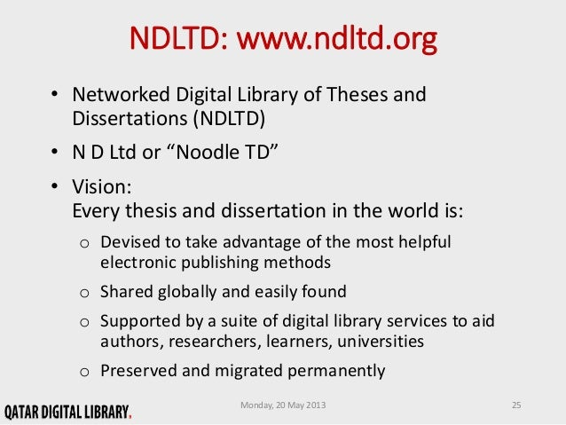 A Thesis About Library Services