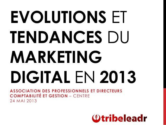 Evolutions et tendances du marketing digital