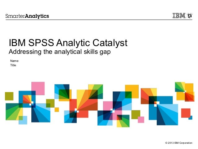 analytics technology spss