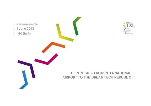 Саммит ТПП С-6 в Берлине: Презентация ТПП Берлина
