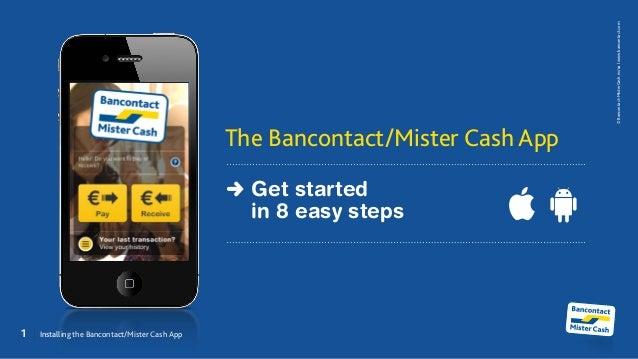 The Bancontact/Mister Cash App