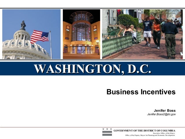 Business Incentives | DMPED | Doing Business 2.0